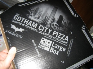 The Dark Knight Pizza