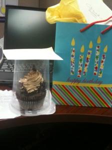 Giant. Cupcake. Delicious.